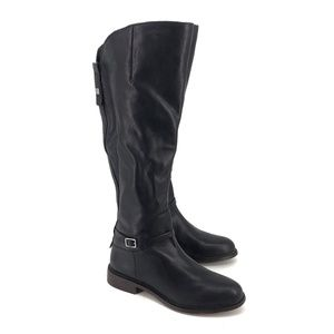 NEW Franco Sarto Haylie Leather Knee High Boots